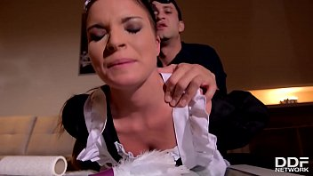 Petite maid Anita B. humiliated & ass fucked by her boss until she orgasms 23 min
