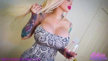 Sabrina Sabrok POV ass fucking huge tits blonde
