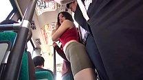 Hot Asian Teen Fucks On The Bus