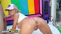 BANGBROS - PAWG Nicole Aniston Gets Her Big Ass Licked And Fucked By Mike Adriano