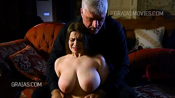 Large tits fondled and squeezed 4 min