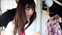 japanese schoolgirl jk bus gangbang molester plz her name