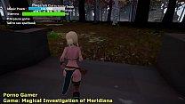 Walkthrough Magical Investigation of Meridiana 1