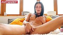 LETSDOEIT - Stunning Brunette Enjoys Playing With Her Toys (Gabriela Rossa)