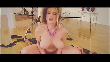 Tattooed blondie Peneloppe Ferre needs her tight shaved pussy filled