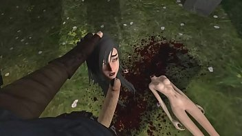 Sexy ninja gets brutally m. and fucked