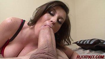 Sexy Sara Stone Takes a Crack at the Huge Cock of Whitezilla 15 min