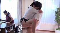 Japanese Sister Morning Sex With Brother in The Front Of Family! 9 min