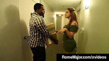 Black Knight Rome Major Fucks Latina Babe Miss Raquel!