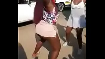 Black Mzansi Girls Dances with G-Strings