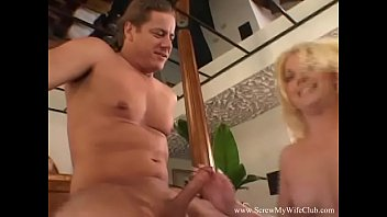 Blonde MILF Swinger Natural Cuckold