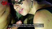 Fui no Gloryhole com meu marido, gozaram no meu cuzinho,na minha bucetinha e na minha boca, o corno do meu marido filmou tudo - Cristina Almeida
