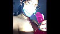 Vicky Tease Tuesday: Vicky Hylton Plays with Dildo at The ER