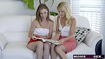 Fulfilling MY Step Moms Threesome Fantasy With Her Hot Friend S9:E2 12 min