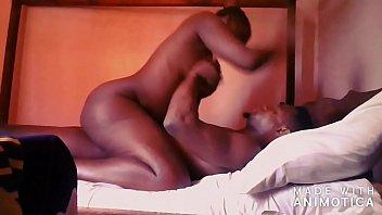 Yummy Ugandan  Massage Therapist getting it hard