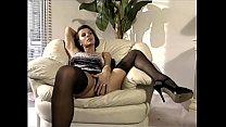MILF having sex in sheer nylons and a garter belt