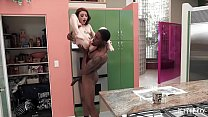 Tattooed Petite Hottie Lola Gets Carried Around And Impaled By A BBC 8 min