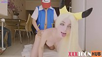 POKEMON ASH FUCKS PIKACHU IN SWEET ANAL AND CUM INSIDE