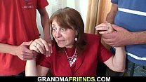 70 years old hairy pussy granny