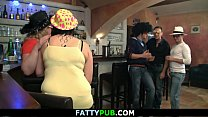 Hot bbw party with fat d. girls
