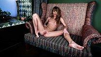 Stunning Russian girl Sasha Bikeyeva with a perfect figure and her royal masturbation and squirt orgasm
