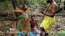 Village Outdoor Threesome - Hunter Caught me Fucking Popular Village Slut (Trailer)