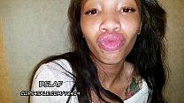 Ebony Teen With Huge DSLs Gets Facial After Sucking BBC- DSLAF
