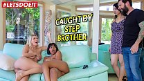 LETSDOEIT - Stepbro Gets Scamed (Natalia Starr And Jenna Foxx)