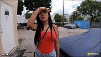 Roadside - Stranded Latina Teen Fucks Horny Mechanic