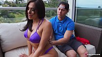 Bossy Step Mom Orders Step Son To Lotion Her Back and Fuck Her Brains Out - Jaclyn Taylor and Seth Gamble