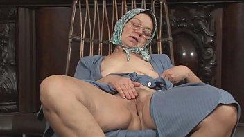 I had my cock-sucking grandma suck my cock