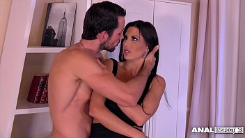 Anal inspectors orgasm instantly when Alexa Tomas squirts during ass fuck