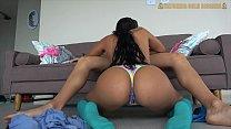 Hottest Venezuelan 18 year Old Teen Gets Destroyed Amazing Ass