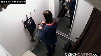 Teen Busty Girl Caught by Hidden Cameras