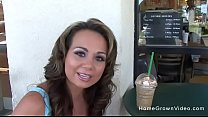 Picked up a hot milf with big tits at starbucks