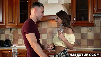 Gazelle Body Sarah Cute Plowed in her Tiny Asshole by Thick White Cock