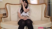 Hairy pussy Mai Syoji riding cock at home