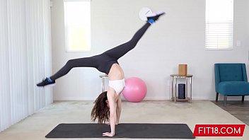 FIT18 - Aliya Brynn - 50kg - Casting Flexible and Horny Petite Dancer