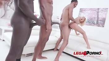 Sarah Cute assfucked by 4 BBC with double penetration SZ2287