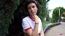 ▶▶ GERMAN SCOUT - ROUGH ANAL FOR BITCH STACY AT STREET CASTING FOR MONEY ◀◀