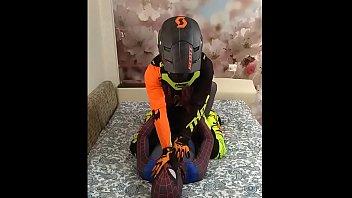 spiderman and biker gay