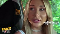 Fake Hostel Hot blonde Marilyn Crystal fucked by her driving teacher