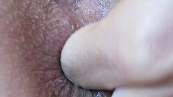 Extreme close up anal play and fingering asshole 30 min