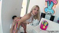 NYMPHO Deep inside stunning blonde Sloan Harper