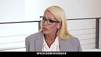 MYLF - Big Boobs Mature Milf (Alura Jenson) Sucks A Married Stud's Big Dick