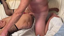 Horn Wife Gets Her Ass Reamed By A Big Cock Huge Cumshot