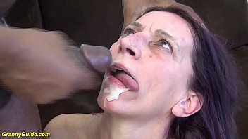 ugly 69 years old mom first b. interracial