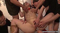 Kinky brunette, Ululu Nanami likes very rough group sex