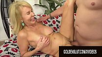 Golden Slut - Stunning Mature Blondes Getting Drilled Compilation Part 2