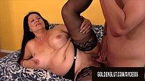 Golden Slut - Mature Brunette Beauties Fucking Compilation Part 2